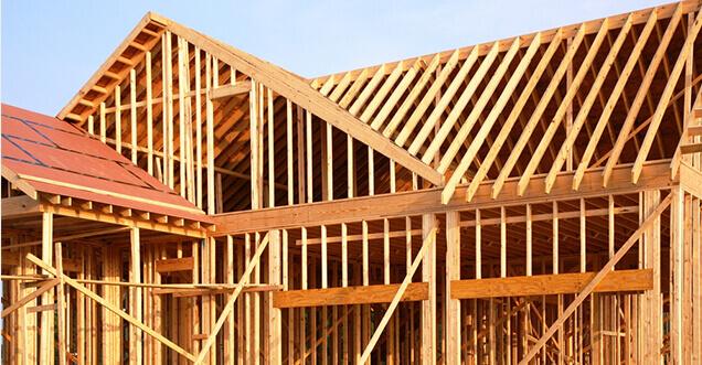 House-trusses-frames